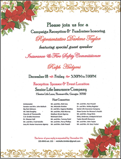 Campaign Reception & Fundraiser